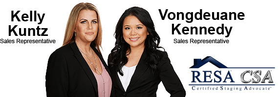 Kelly Kuntz & Vongdeuane Kennedy - Sales Representatives