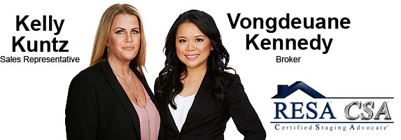 Kelly Kuntz - Sales Representative & Vongdeuane Kennedy - Broker